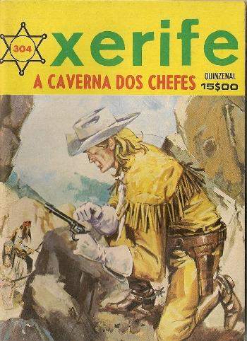 KIT CARSON - 6 . CAVERNA DOS CHEFES (A)