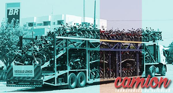 transporte de motocicleta