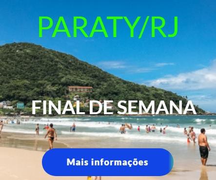 Final de semana em Paraty