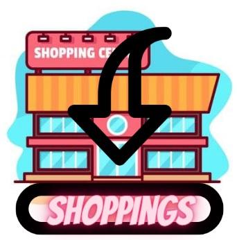 Mapa com endereços de Shoppings no Brás