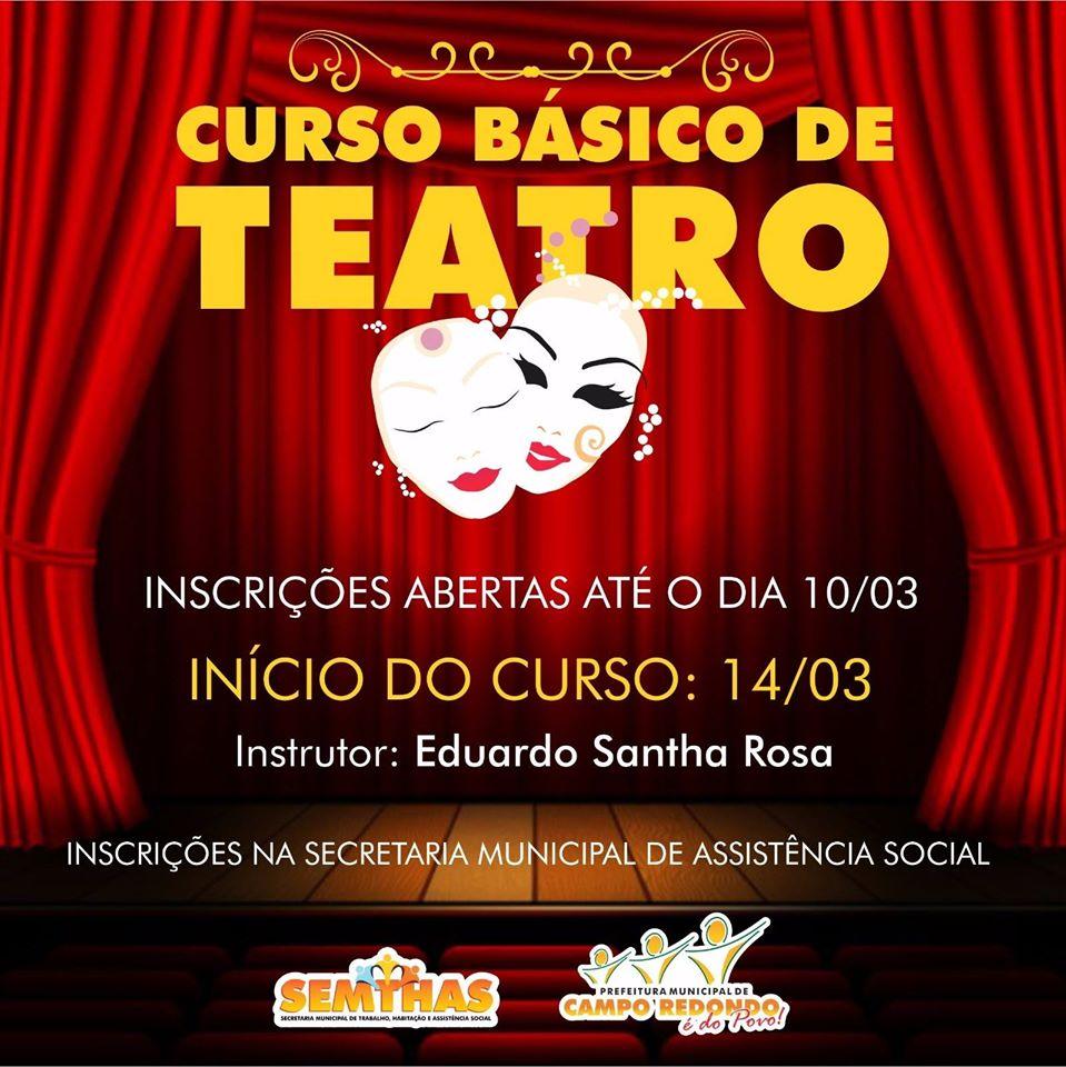 CURSO BÁSICO DE TEATRO