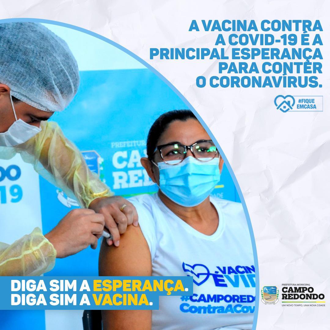 VACINAÇÃO CONTA À COVID-19