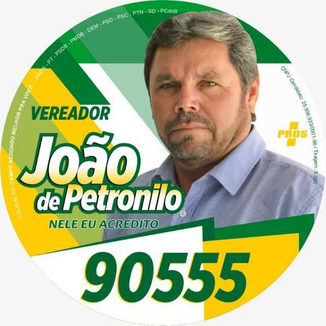 JOÃO DE PETRONILO - 90555