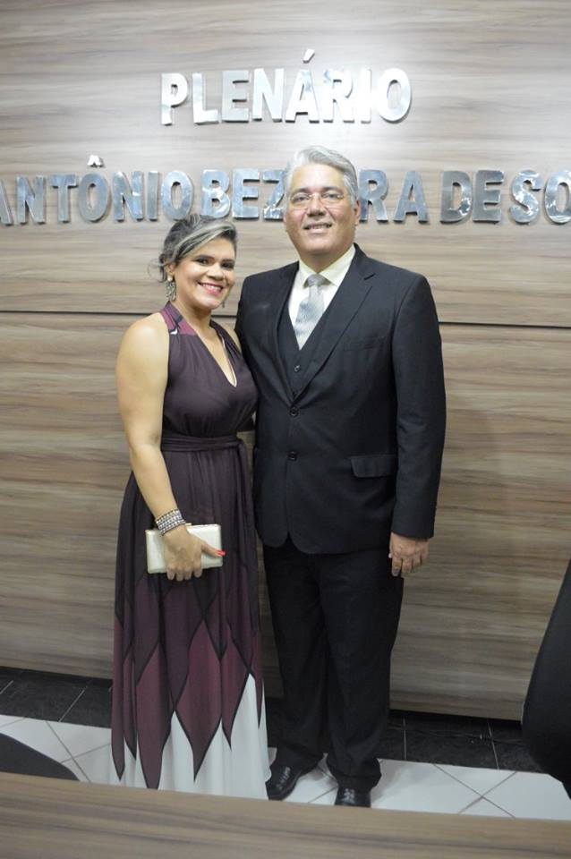 PREFEITO ALESSANDRU E VICE-PREFEITA SILVANIA