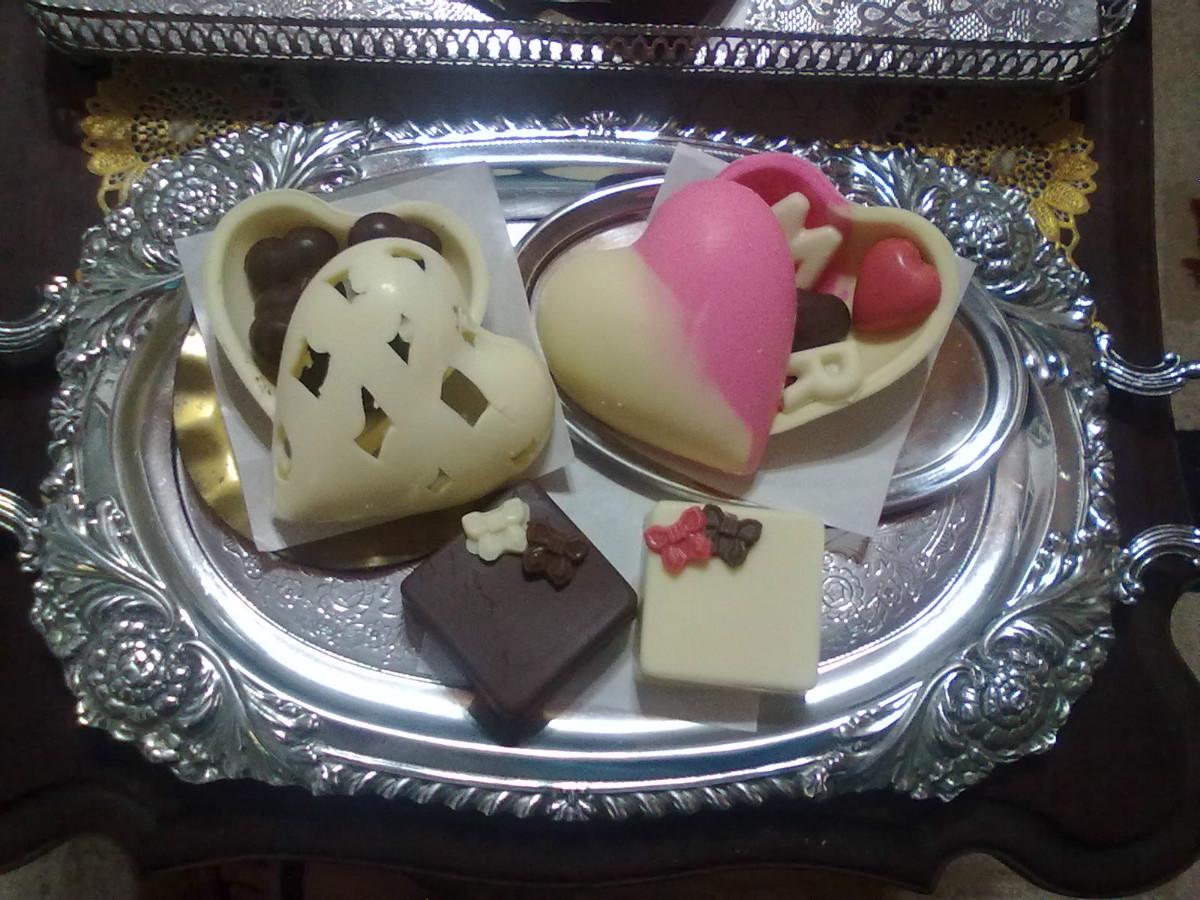 chocolates diversos