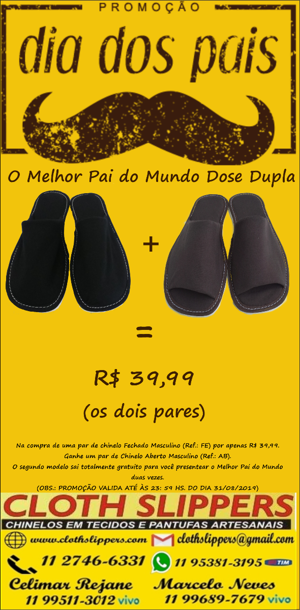 9e95b3599d1c2d Cloth Slippers - Chinelos de Quarto e Pantufas