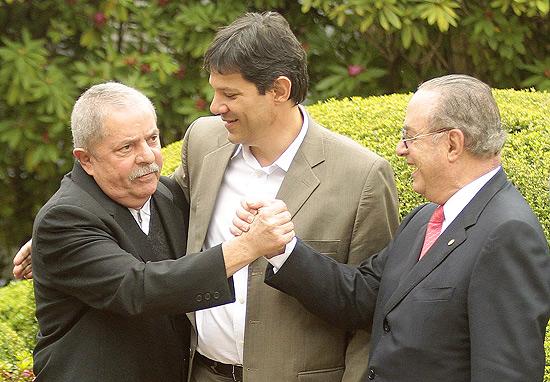 Lula (corrupto?) com o corrupto Maluf