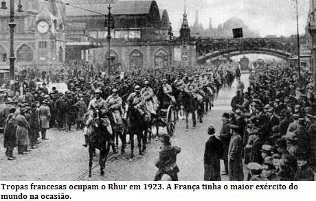 França invade o Rhur