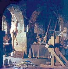 A Inquisição tortura mulheres por bruxaria
