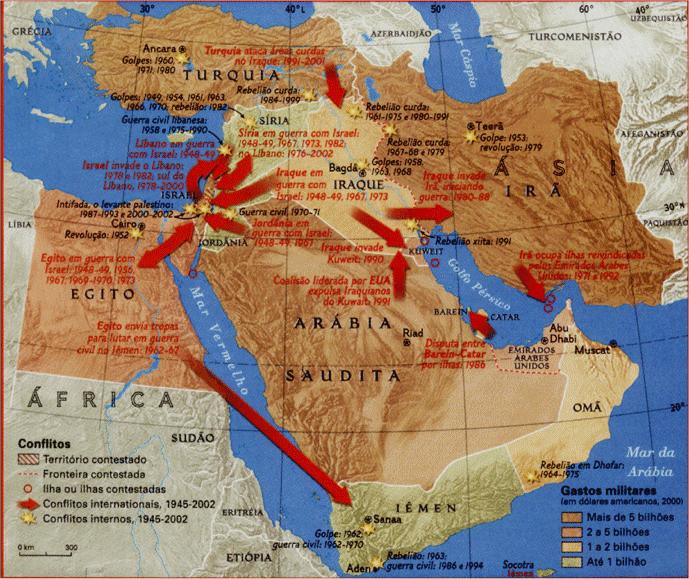 Oriente médio geral