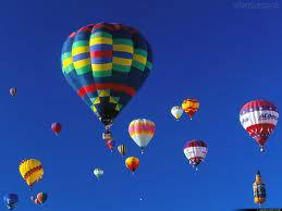 Veja o mundo do alto de um balão