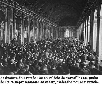 Assinatura do tratado de Versailles