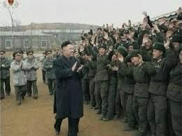 Kim III visita fronteira em 09 março 2013
