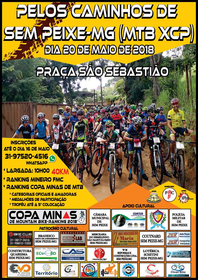 COPA MINAS DE MOUNTAIN BIKE 2018