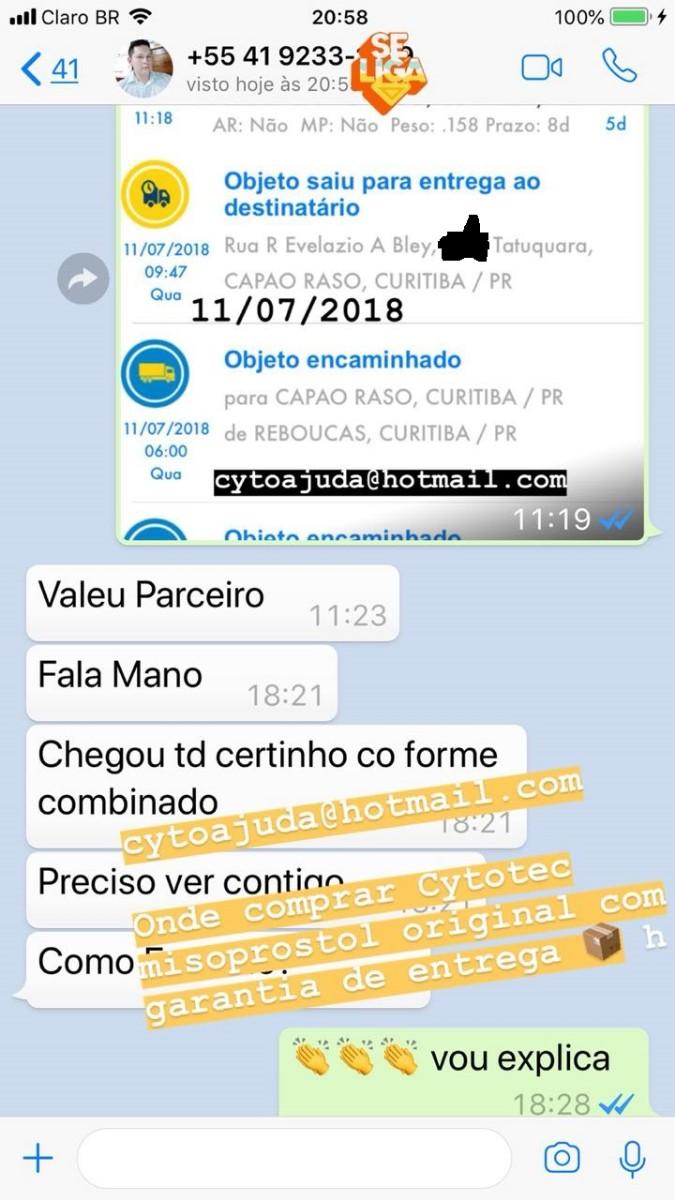 Cytotec Misoprostol Vendo em Curitiba