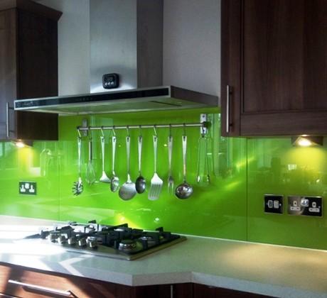 Fachada de vidro para cozinha