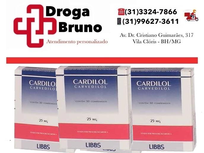 Carverdilol 25 mg