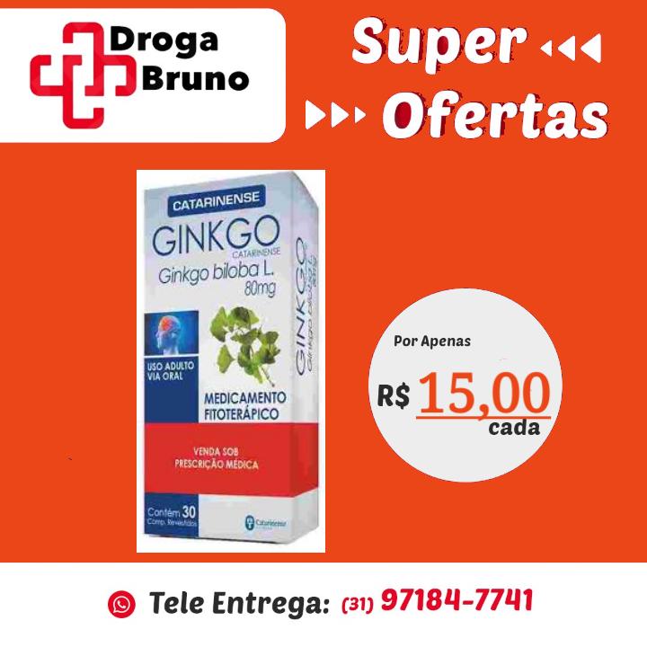 Ginkgo preço bh