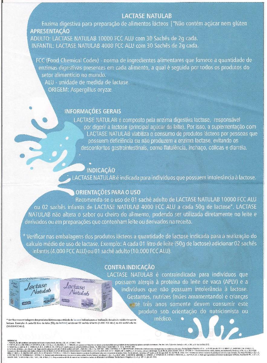 lactase enzima bula