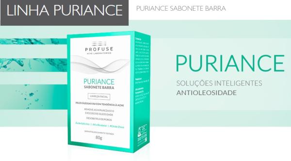 puriance sabonete