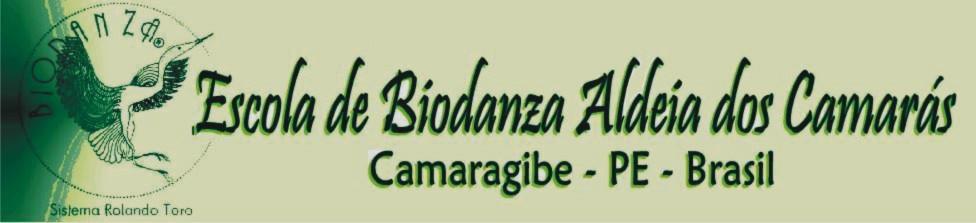 logomarca da escola biodanza aldeia dos camarás lorena oliveira