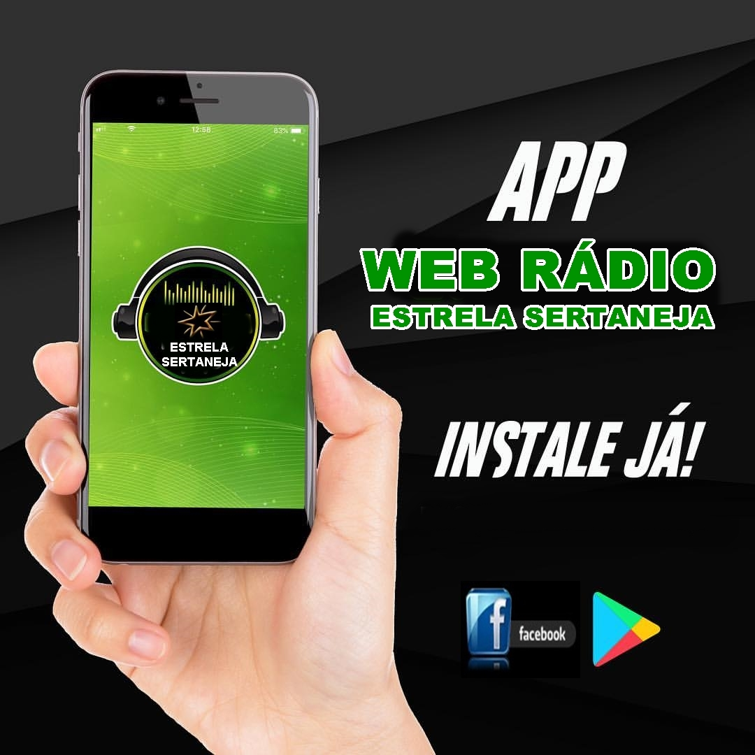 Aplicativo WEB Rádio Estrela Sertaneja