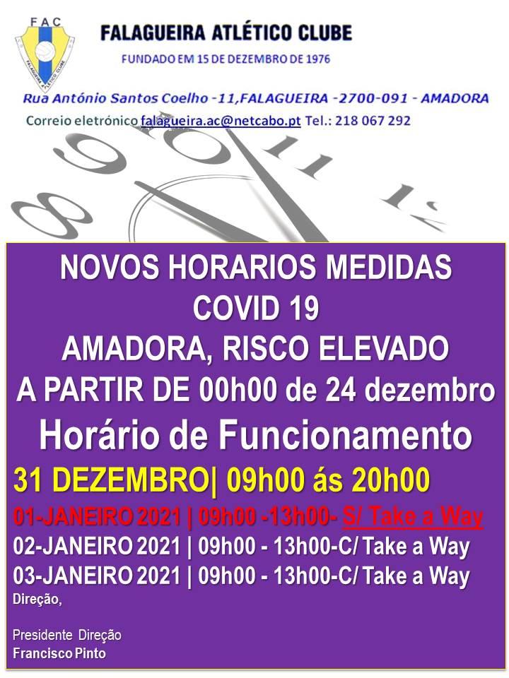 horarios 2020 para 20121