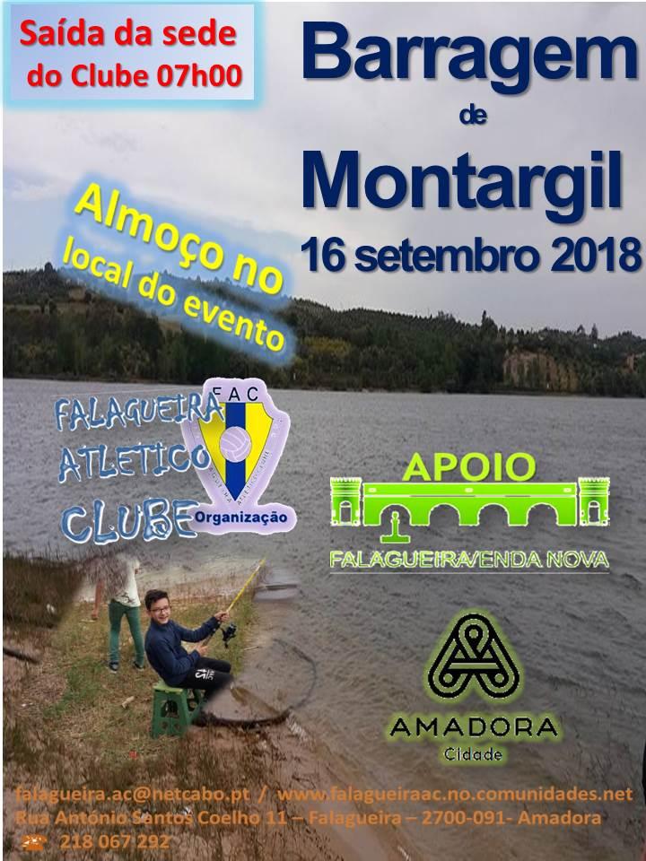 Montargil , Falagueira A C,  pesca 2018