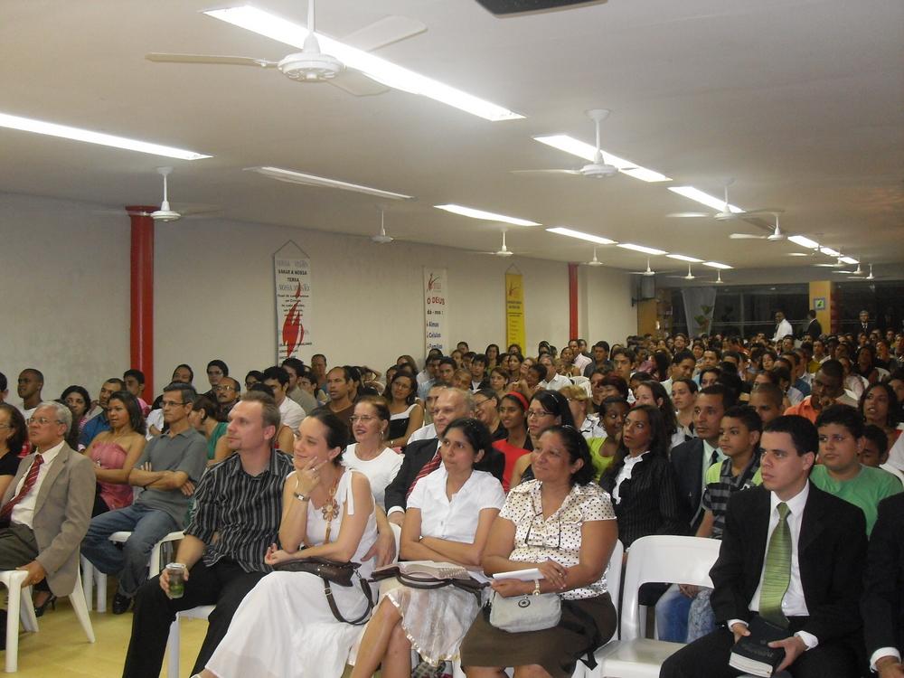 Seminário em Recife/Brasil