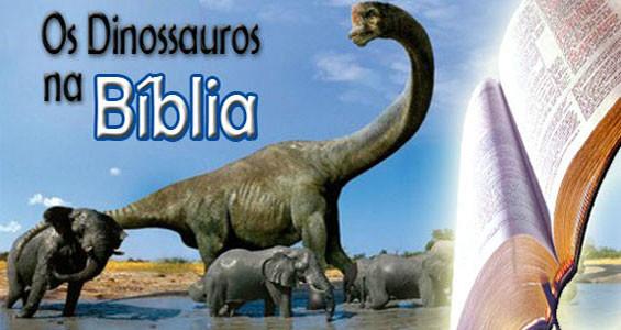 os dinossauros e a bíblia