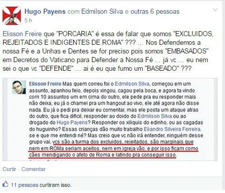 Hugo Paynes dissimulado