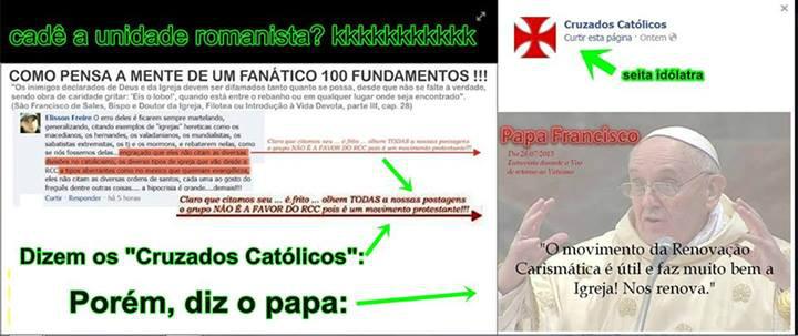os militantes católicos se contradizem