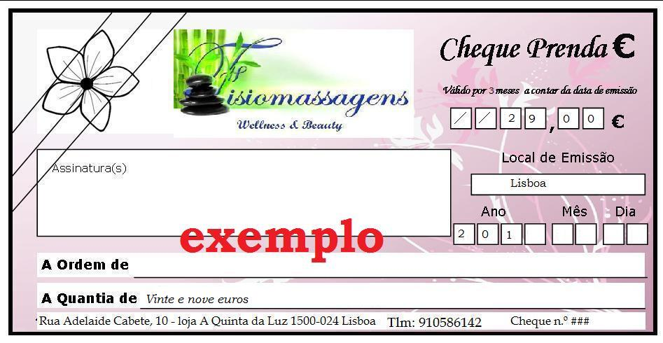 Cheque Oferta