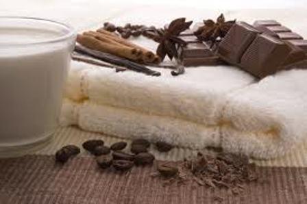 Hidratação Corporal de Chocolate