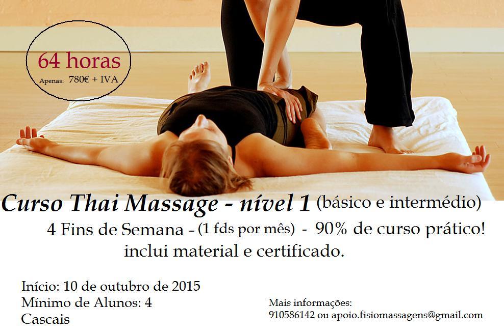Thai Massage Nível 1