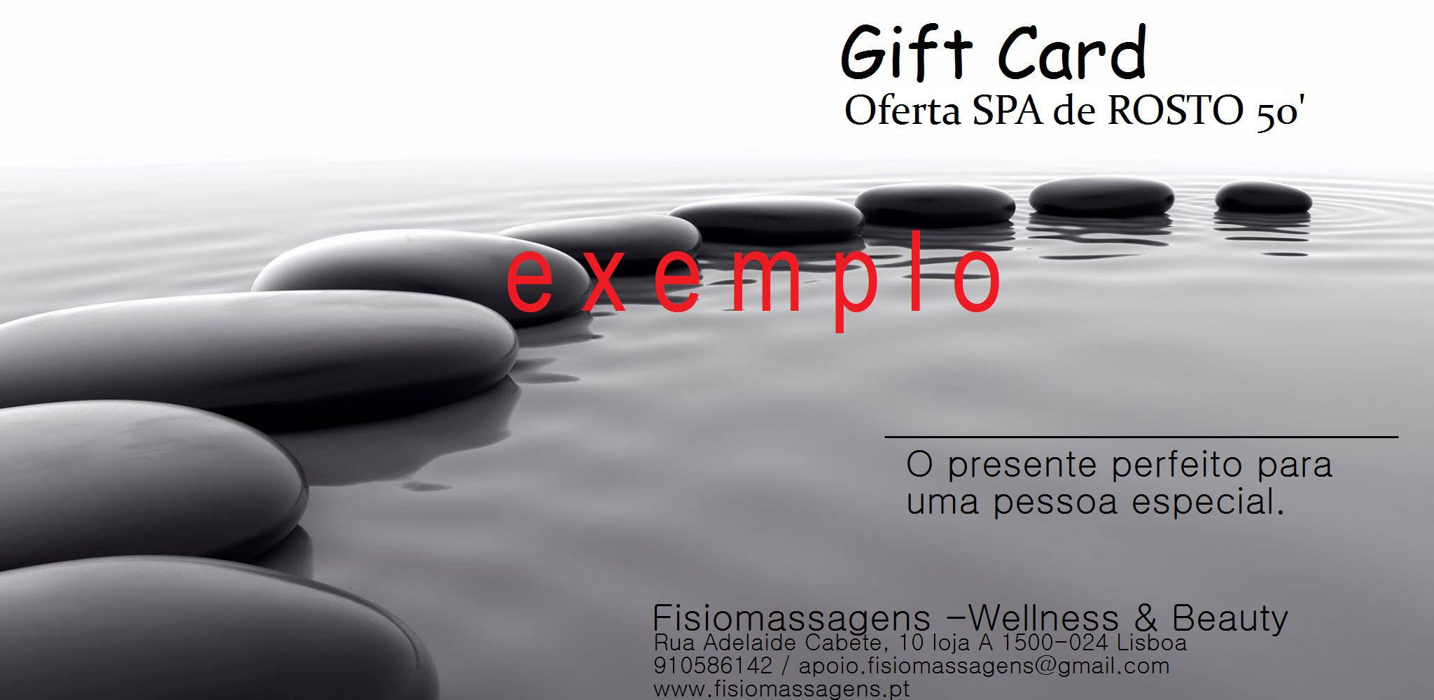 Exemplo Gift Card