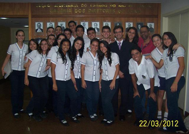 Unidade Escolar Tijuca II visita a Justiça Federal