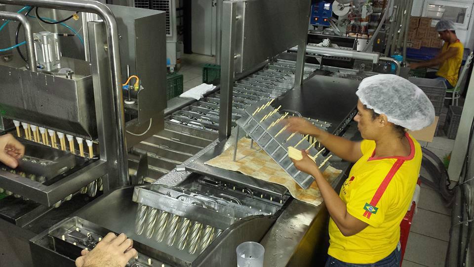 Produção Gioia Picolés