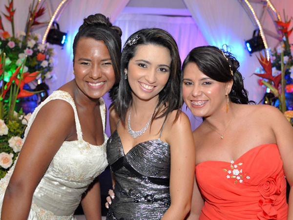 Elania, Alane e Adriana