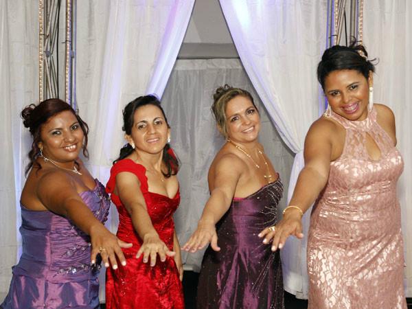 Ana Maria, Denilda, Eliana e Katiusia