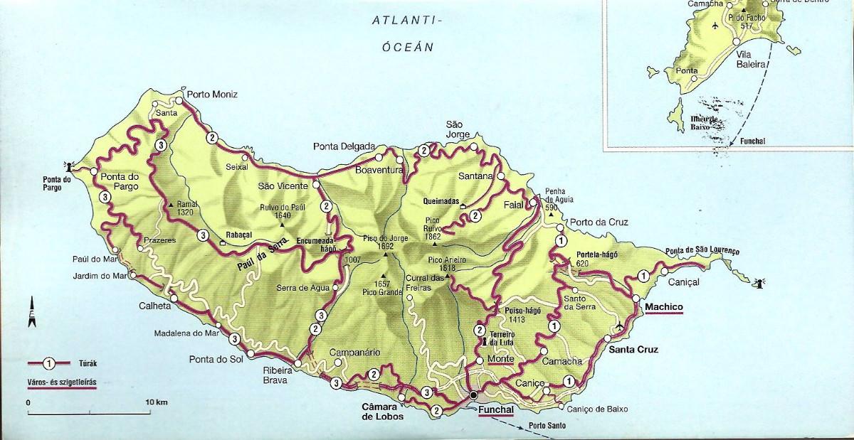 mapa de estradas da madeira MADEIRA TÁXIS mapa de estradas da madeira