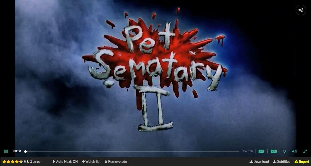 O CEMITÉRIO MALDITO 2 (Pet Sematary II) - 1992