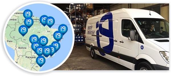 Seja um de nossos revendedores i9Life com centro de distribuição em todo Brasil