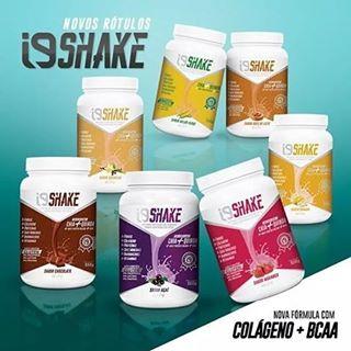i9Life, nossos SHAKES possuem colágeno, chia, quinoa, bcaa, Whey
