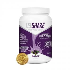 Linha de Shakes i9 Life nos sabores. Shake sabor AÇAÍ