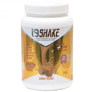 Linha de Shakes i9 Life nos sabores. Shake sabor PAÇOCA