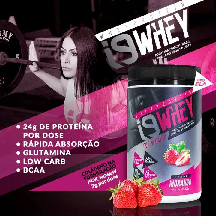Linha de Suplemento Whey Protein para aumento de massa muscular