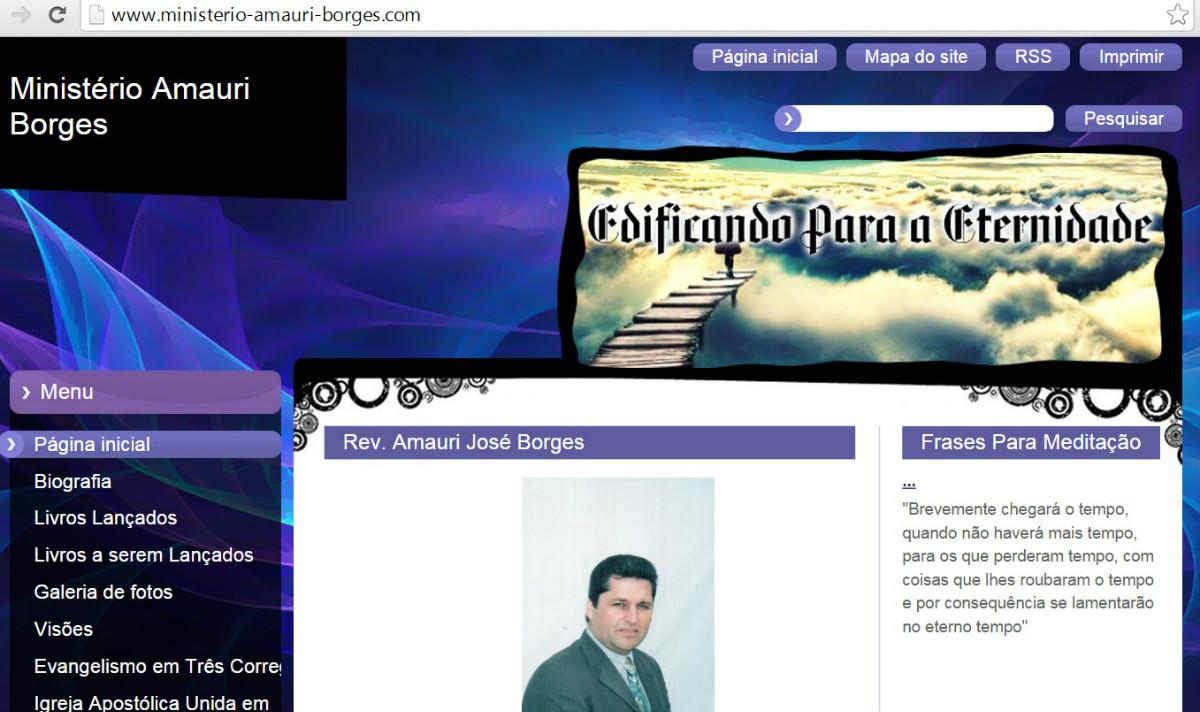 MINISTÉRIO AMAURI BORGES