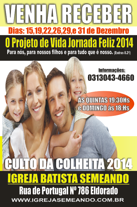 Projeto de Vida Jornada 2014