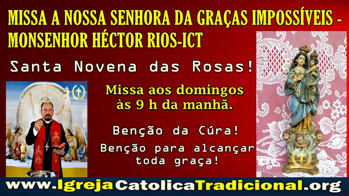 N S dos Impossíveis Mons Hector Rios